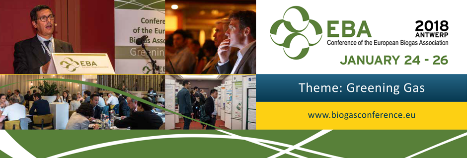 EBA Conference 2018 - Join us in Antwerp to meet biogas