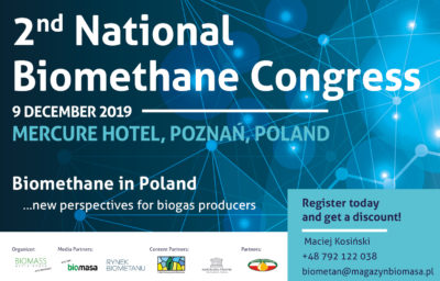 2nd National Congress of Biomethane 2019