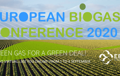 European Biogas Conference 2020 goes virtual…see you online!
