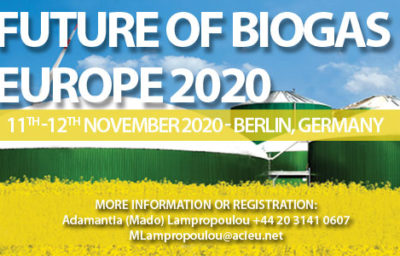 Future of Biogas Europe 2020