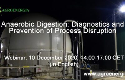 Anaerobic Digestion: Diagnostics and Prevention of Process Disruption