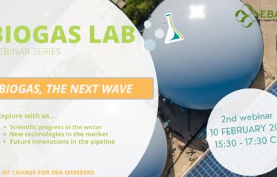 Biogas Lab Webinar Series. Biogas, The Next Wave