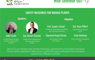 Safety Measures for Biogas Plants – DiBiCoo Web Seminar Series 07