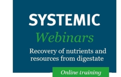 SYSTEMIC webinar: The use of polymers for optimal digestate separation